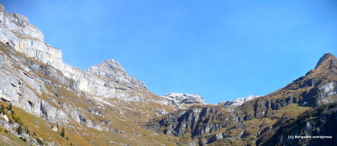 Traumhaftes Panorama bei der Glärnischhütte.