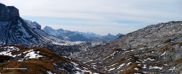 Karstlandschaft auf dem Weg nach Braunwald.