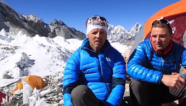 Simone Moro (l) und Ueli Steck (r) / Screenshot: Epic.TV