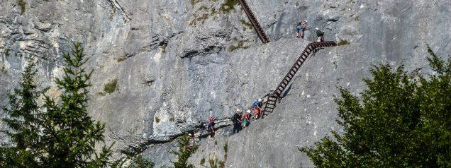 Der Klettersteig Pinut / Bild: bergwelt.me