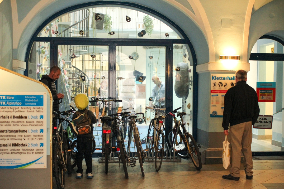 Kletterhalle Bäckerstrasse, Wien