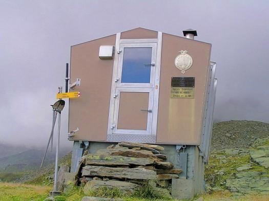 Laggin-Hütte / Bild: SAC Monte Rosa