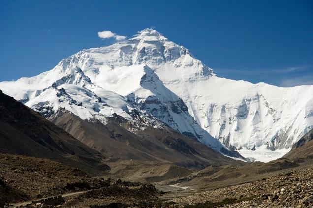 Mount Everest / Bild: Luca Galuzzi, wikimedia