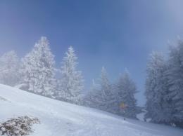 Aufstieg auf den Kronberg. Vom Nebel in die Sonne.