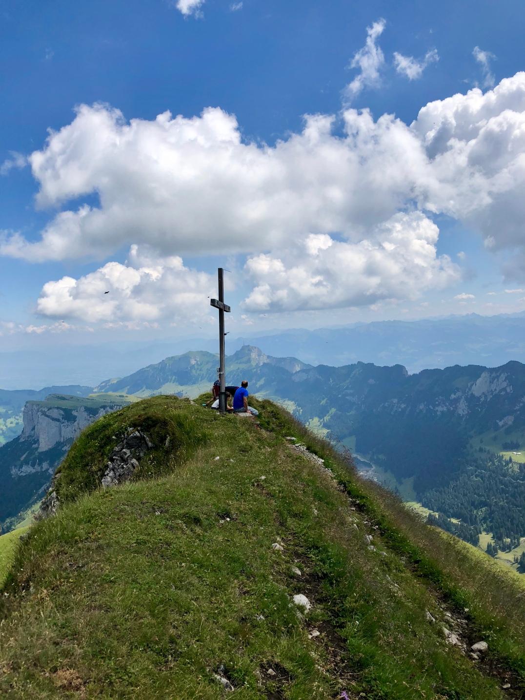 Gipfelkreuz auf der Marwees.