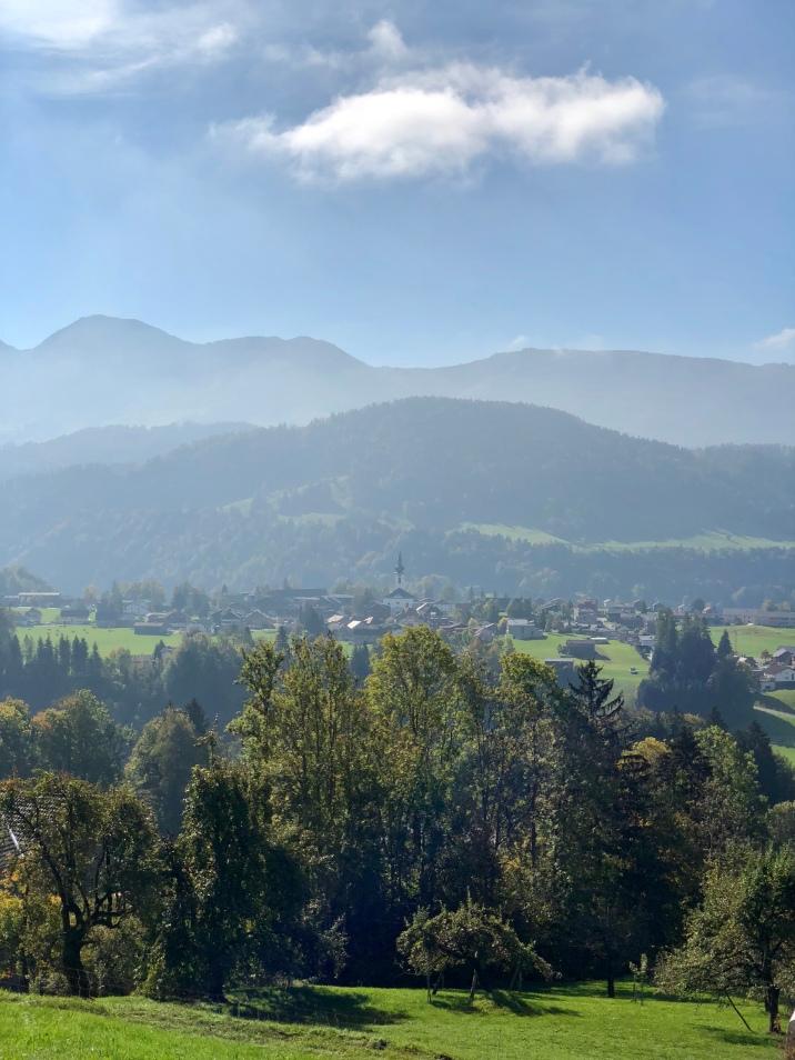 Hittisau im Bregenzerwald.
