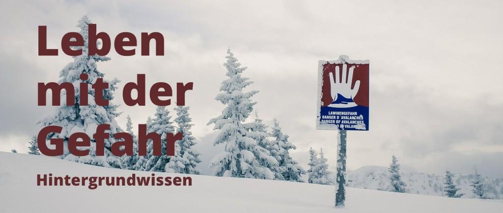 Hintergrundwissen zu den Lawinen-Gefahrenstufen in der Schweiz