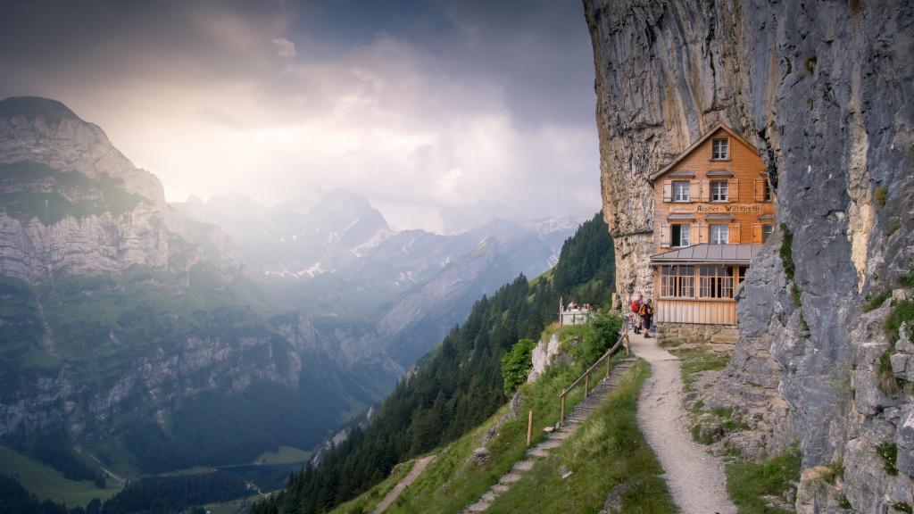 Im Berggasthaus Aescher gibt es keine Rösti mehr