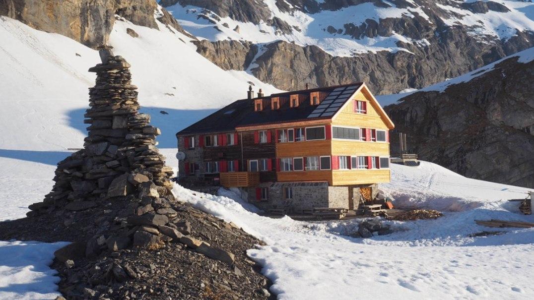 Die Lämmerenhütte (Bild: bürgi scherrer)